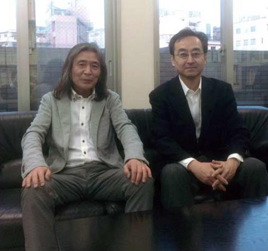 主任講師牧野と銕川さん