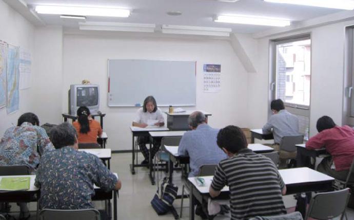 検定対策講座最終日の授業風景