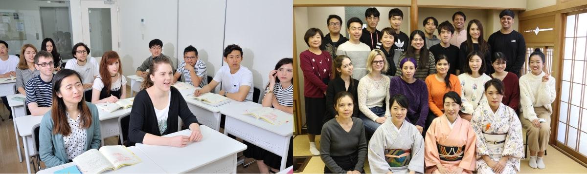 日本語を学ぶ学生さんはどんな人か